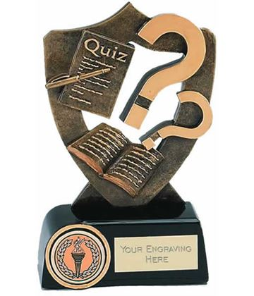 """Quiz Competition Trophy 13.5cm (5.25"""")"""