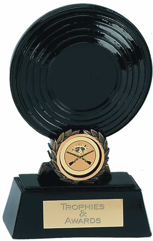"Clay Pigeon Disc Trophy Award 14cm (5.5"")"
