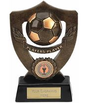 "Players Player Football Shield Award 18cm (7"")"
