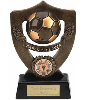 "Parents Player Football Shield Award 18cm (7"")"