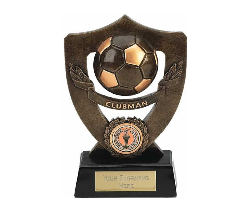 "Clubman Football Shield Award 18cm (7"")"