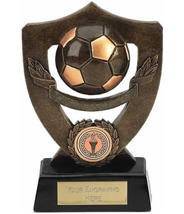 "Blank Football Shield Award 18cm (7"")"