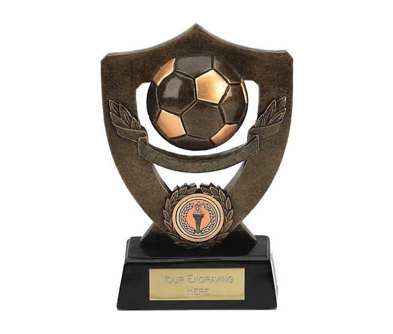 "Blank Football Shield Award 18cm (7"")"