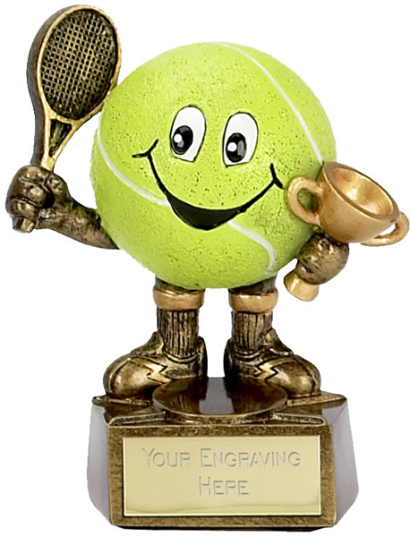 "Tennis Man Trophy 10cm (4"")"