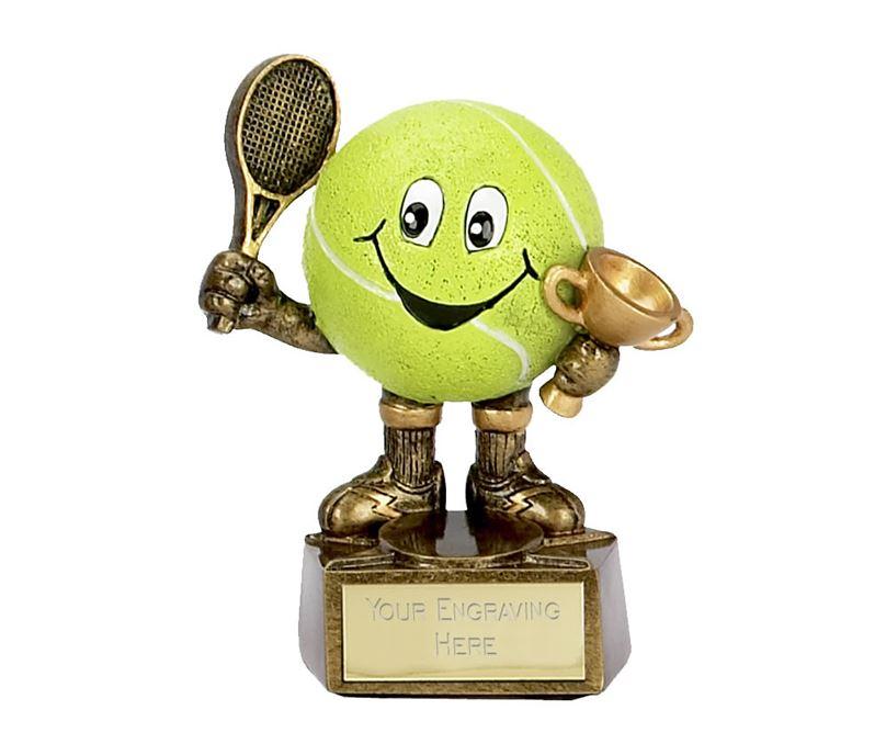 "Tennis Man Trophy 10cm (4"")"