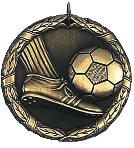 """Laurel Football Gold Medal 50mm (2"""")"""