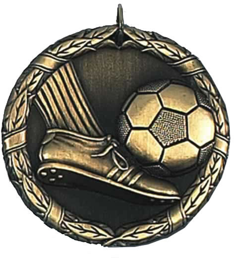 "Laurel Football Gold Medal 50mm (2"")"