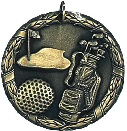 """Laurel Golf Gold Medal 50mm (2"""")"""