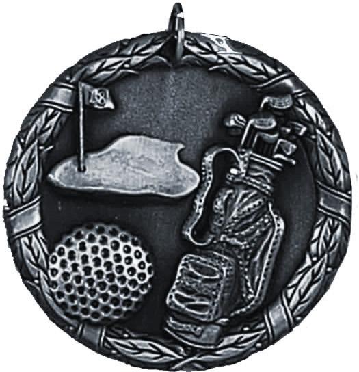 "Laurel Golf Silver Medal 50mm (2"")"