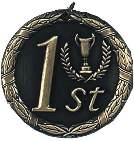 "Laurel 1st Place Medal 50mm (2"")"
