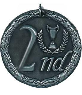 """Laurel 2nd Place Medal 50mm (2"""")"""
