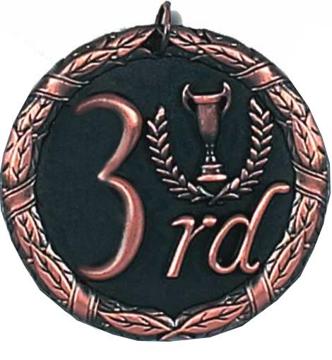 """Laurel 3rd Place Medal 50mm (2"""")"""