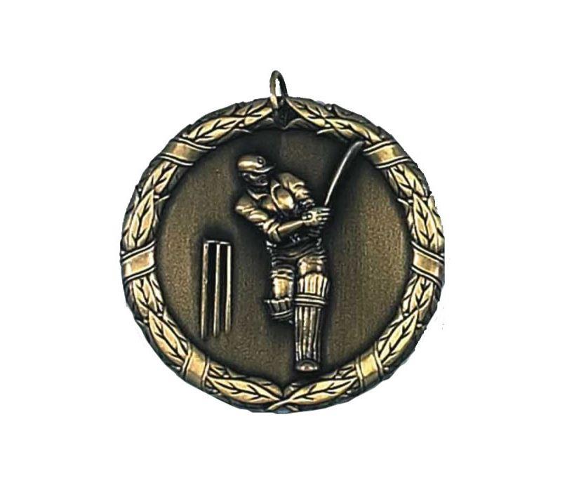 """Laurel Cricket Gold Medal 50mm (2"""")"""