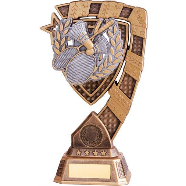 "Euphoria Badminton Trophy 15cm (6"")"