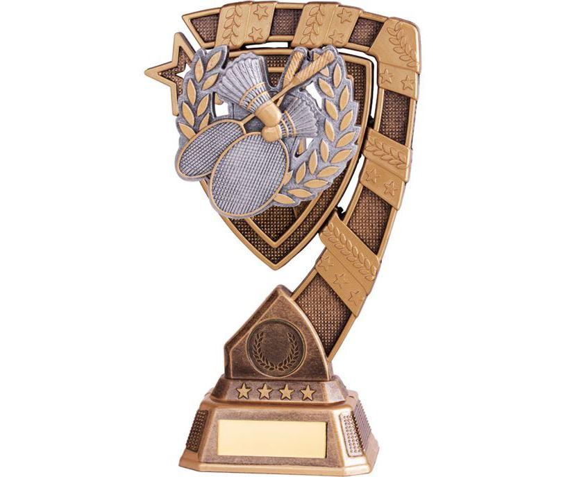 "Euphoria Badminton Trophy 18cm (7"")"