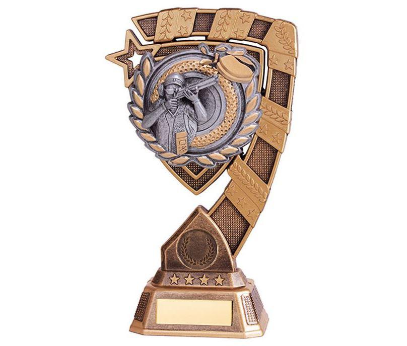 """Euphoria Clay Pigeon Shooting Trophy 15cm (6"""")"""