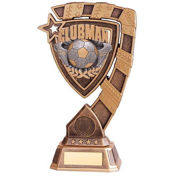 "Euphoria Clubman Football Trophy 21cm (8.25"")"
