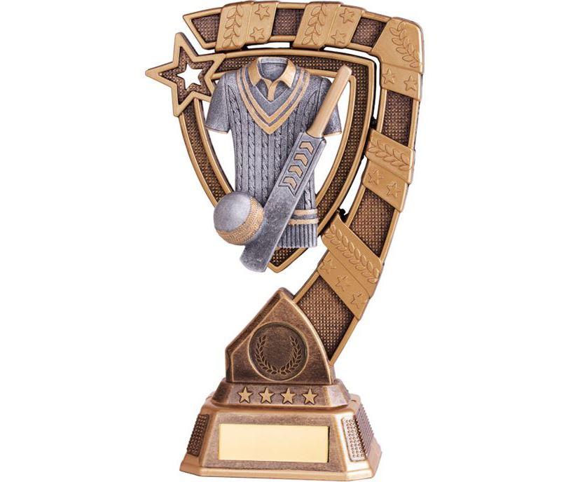 """Euphoria Cricket Trophy 21cm (8.25"""")"""