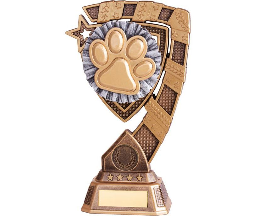 "Euphoria Dog Agility Trophy 15cm (6"")"