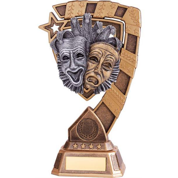 "Euphoria Drama Trophy 21cm (8.25"")"
