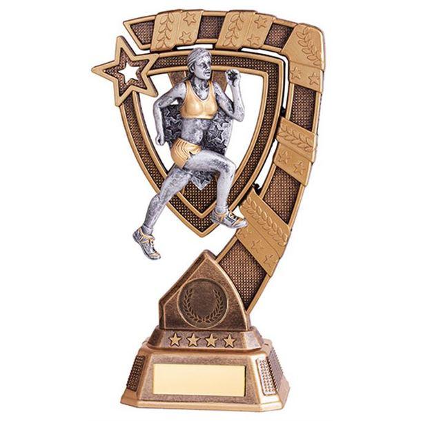 """Euphoria Female Running Trophy 18cm (7"""")"""