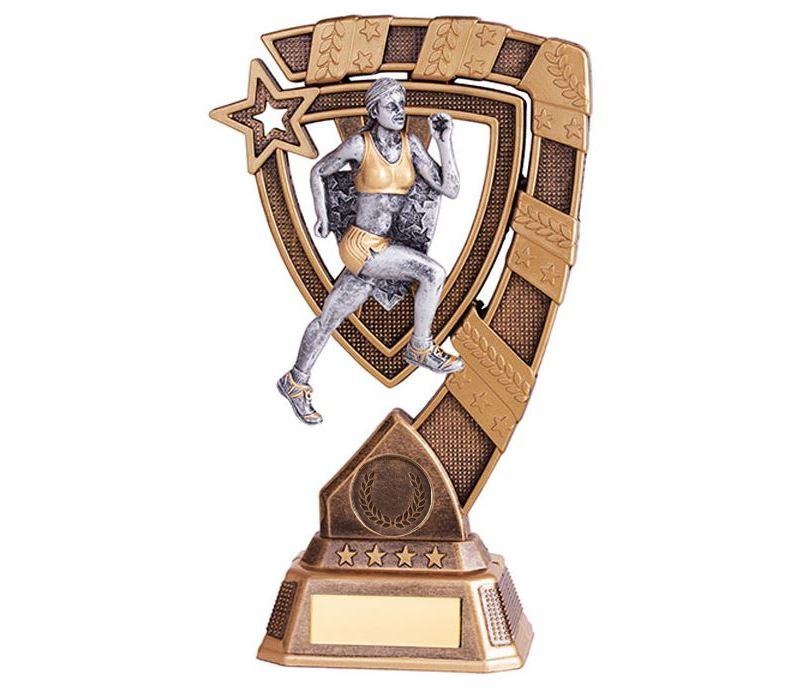 """Euphoria Female Running Trophy 15cm (6"""")"""