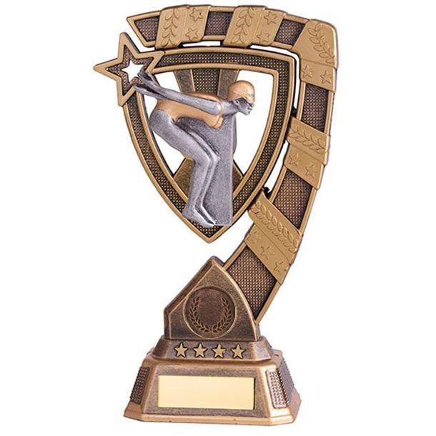 "Euphoria Female Swimming Trophy 18cm (7"")"
