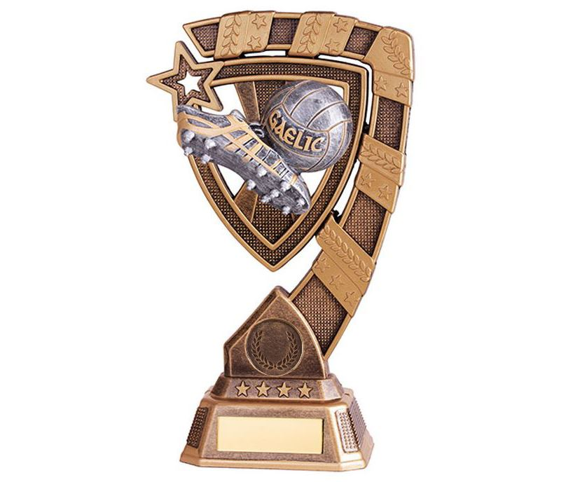 "Euphoria GAA Boot & Ball Trophy 21cm (8.25"")"