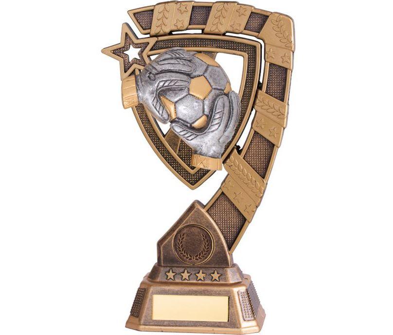 "Euphoria Football Goalkeeper  Trophy 18cm (7"")"