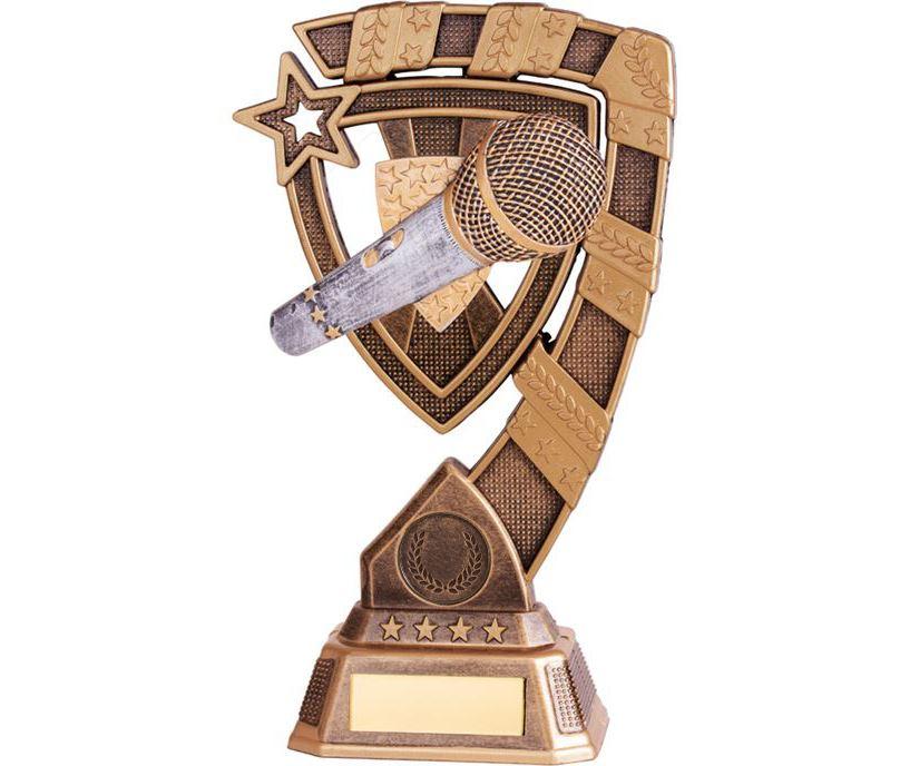 "Euphoria Karaoke Trophy 15cm (6"")"