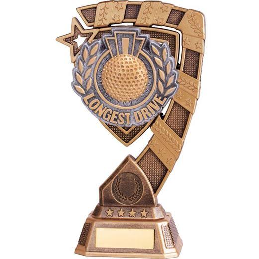 "Euphoria Longest Drive Golf Trophy 15cm (6"")"