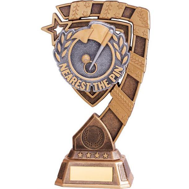 "Euphoria Nearest The Pin Golf Trophy 21cm (8.25"")"