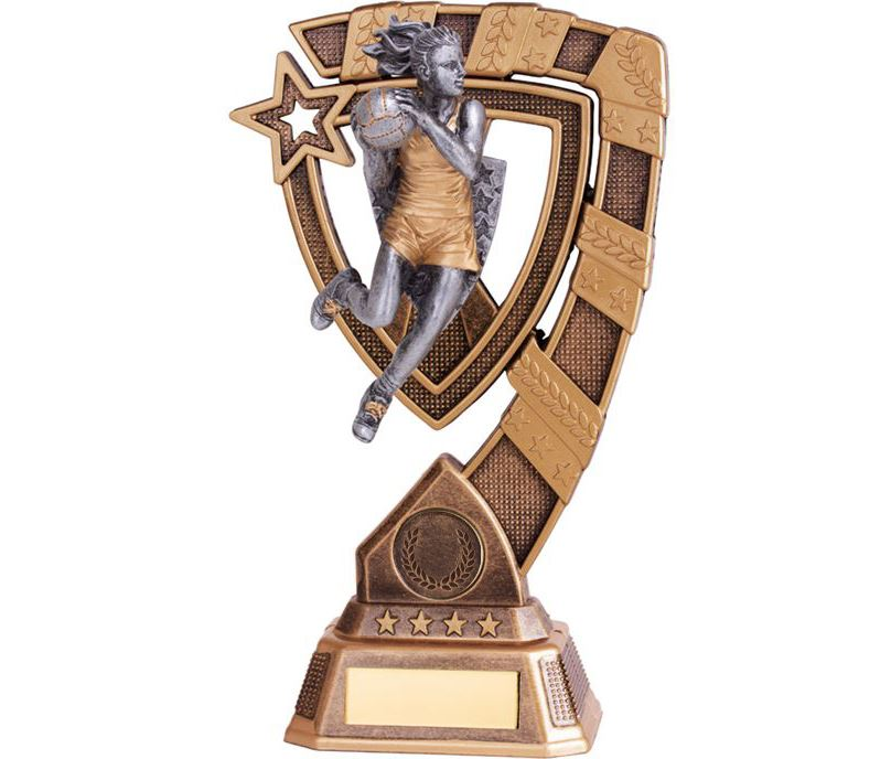 "Euphoria Netball Trophy 18cm (7"")"