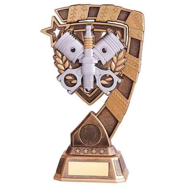 """Euphoria Motorsport Piston Trophy 15cm (6"""")"""