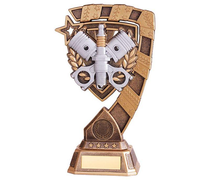 """Euphoria Motorsport Piston Trophy 21cm (8.25"""")"""
