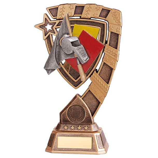 "Euphoria Referee Football Trophy 18cm (7"")"