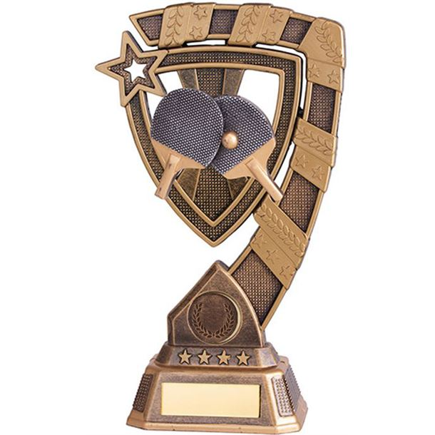 "Euphoria Table Tennis Trophy 18cm (7"")"