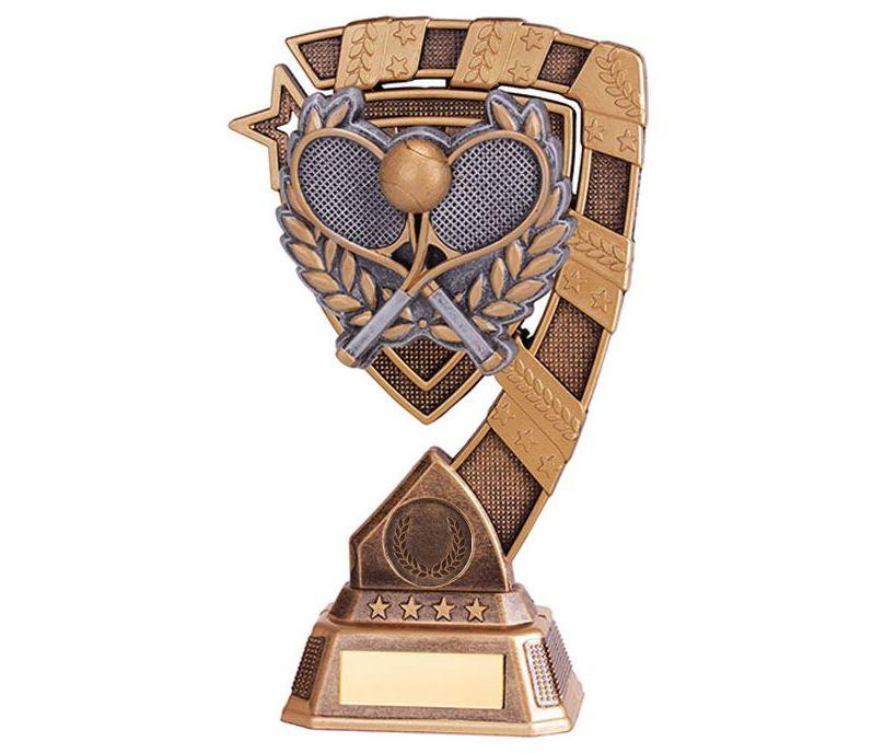"""Euphoria Tennis Trophy 18cm (7"""")"""