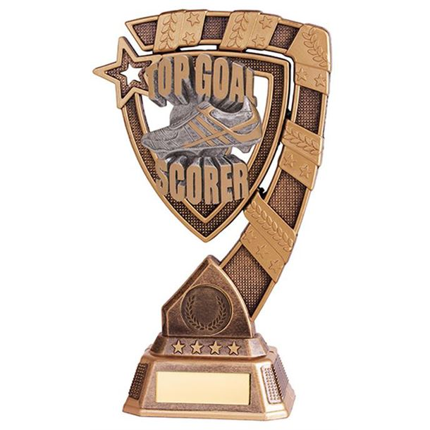 "Euphoria Top Goal Scorer Football Trophy 15cm (6"")"