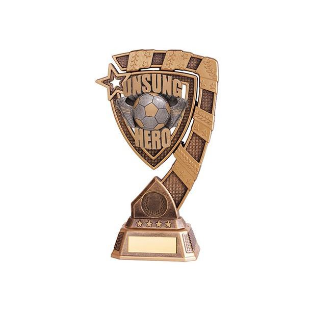 "Euphoria Unsung Hero Football Trophy 15cm (6"")"