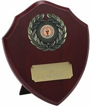 "Traditional Wooden Shield Award 20.5cm (8"")"