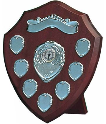 "Silver Annual Presentation Shield 25.5cm (10"")"