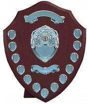 """Silver Annual Presentation Shield 40cm (16"""")"""