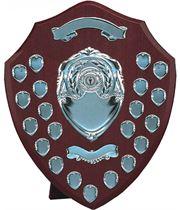 """Silver Annual Presentation Shield 45.5cm (18"""")"""