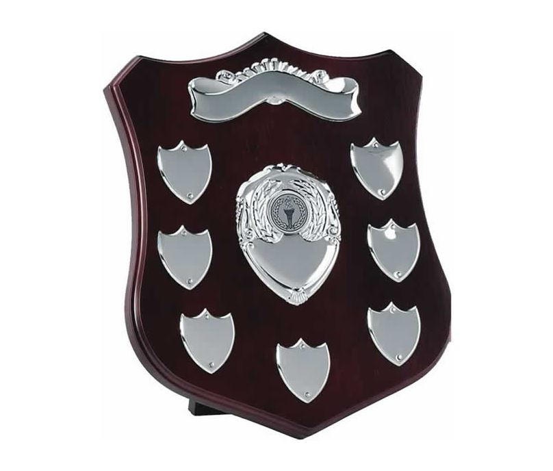 "Silver Plate Annual Shield Presentation Award 25.5cm (10"")"