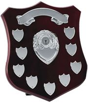 "Silver Annual Shield Presentation Award 30cm (12"")"