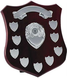 "Silver Annual Shield Presentation Award 30cm (12"")"
