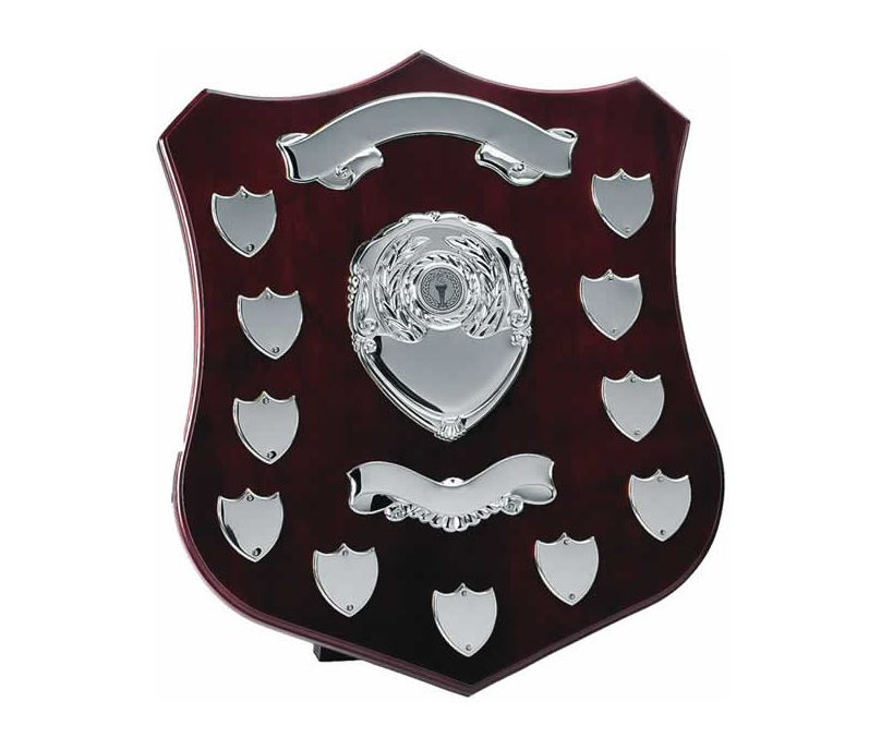 "Silver Annual Shield Presentation Award 35cm (14"")"