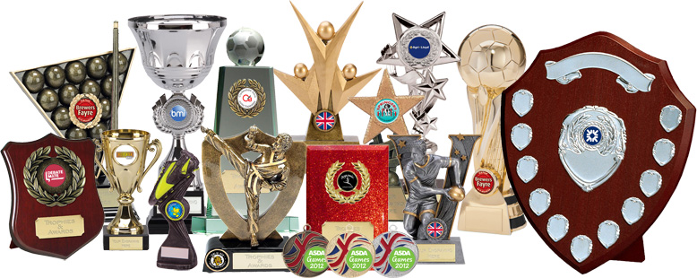 Trophies, Medals and Awards