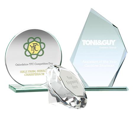 Glass, Crystal & Acrylic Awards